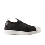 Женские слипоны Adidas Superstar (black-white) - N10710