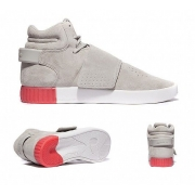 Женские Adidas Tubular Invader Strap (grey-red) - T10657