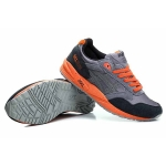 Кроссовки Asics Gel Saga grey - orange - N002