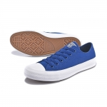 Низкие кеды Converse Chuck Taylor All Star II blue Low мужские - D005