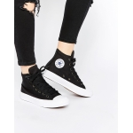 Женские Converse Chuck Taylor All Star II black-white - К10905