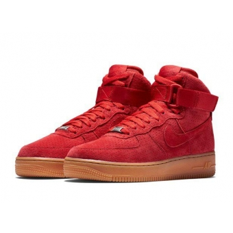 Женские кроссовки Nike Air Force red - K10989