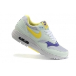 Женские кроссовки Nike Air Max 87 light turquoise - yellow - N008