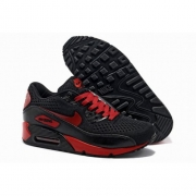 Кроссовки Nike Air Max 90 black red - N004