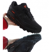 nike air max 90 leather blac - 18741