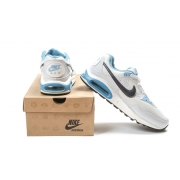Мужские кроссовки Nike Air Skyline white/grey/blue - N003