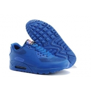 Кроссовки Nike Air Max 90 Hyperfuse blue - N001