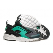 Мужские кроссовки Nike Air Huarache Run black-green - N10947