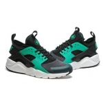Женские кроссовки Nike Air Huarache Ultra black-green - H10937