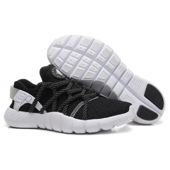 Кроссовки Nike Air Huarache NM black-white - H003