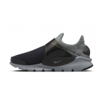 Женские кроссовки Nike Sock Dart Tech Fleece black grey - N10827