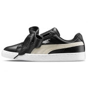 Женские Puma Backet Heart black-white - P10977
