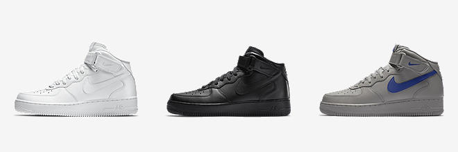 Каталог Nike Air Force 1 черные фото
