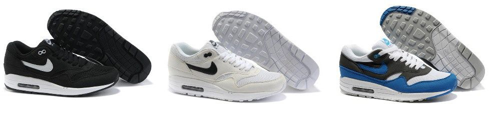Nike Air Max 87 black white каталог