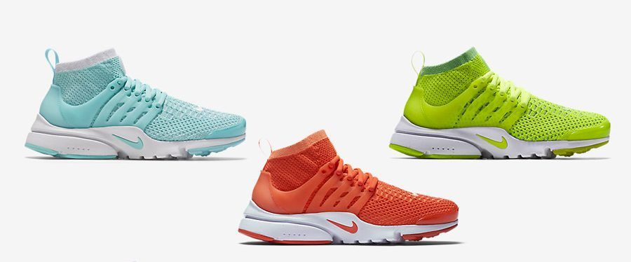 Air Presto Flyknit ultra каталог